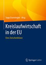 Buchcover Kreislaufwirtschaft in der EU