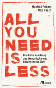 Buchcover All You need Is Less